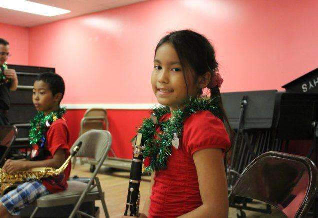 MITCH Band clarinet girl